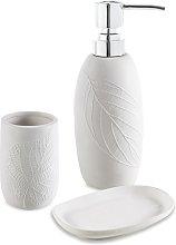 Set accessori 3 pezzi in ceramica Dispenser
