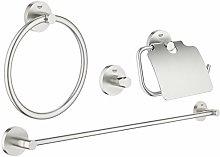 Set accessori bagno 4-in-1 Essentials New