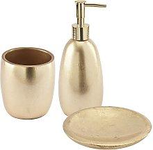 Set accessori bagno da appoggio 3 pezzi Dispenser