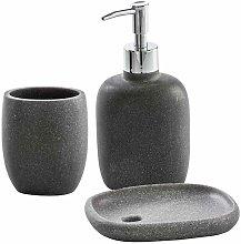 Set accessori da bagno 3 pezzi Dispenser Bicchiere
