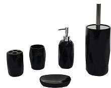 Set accessori da bagno HWC-H88 5 pezzi ceramica ~