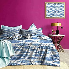 Set biancheria da letto Acquerello blu Fantasie