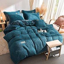 Set biancheria da letto king size beige,