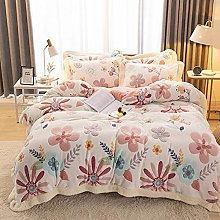 Set biancheria da letto king size floreale, set