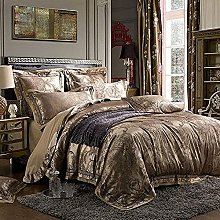 Set biancheria da letto King Size Grigio, 100%