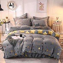 Set biancheria da letto king size grigio, set