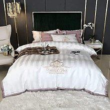 Set biancheria da letto king size, set biancheria