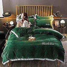 Set biancheria da letto King Size Viola, Set