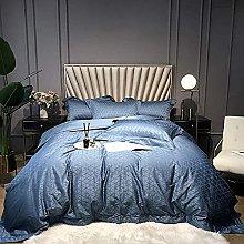 Set biancheria da letto letto matrimoniale grigio,