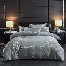 Set biancheria da letto matrimoniale blu, set