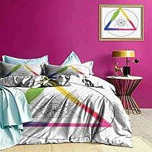 Set biancheria da letto Triangolo arcobaleno Set