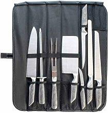 Set coltelli da barbecue cucina 8 pz acciaio inox
