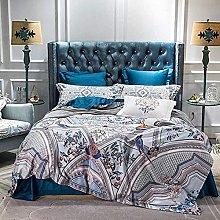 Set copripiumino biancheria da letto in cotone