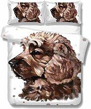 Set copripiumino Pittura Cartone animato cane