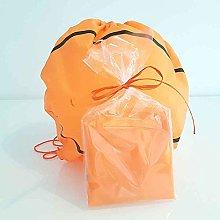 Set di 10 borse zaino con lacci pallone basket, si