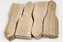 Set di 16 spatole per raclette, in legno di
