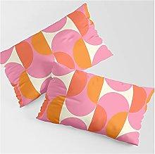 Set di 2 federe per cuscino rettangolare per
