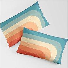Set di 2 federe rettangolari per cuscini in stile
