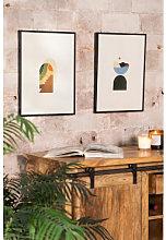 Set di 2 poster decorativi (30x40 cm) Boem