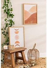 Set di 2 poster decorativi (30x40 cm) Estel