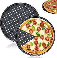 Set di 2 teglie per pizza, diametro 32 cm,