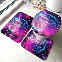 Set di 3 tappeti da bagno con stampa Galaxy