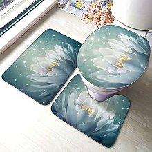 Set di 3 tappeti da bagno Magic Lotus Floral