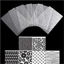 Set di 6 Fogli di Carta da Forno con Texture
