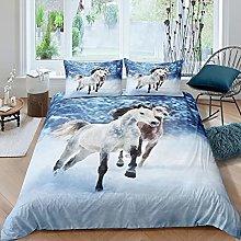 Set di biancheria da letto a cavallo Galloping,
