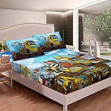 set di biancheria da letto , con angolicon a