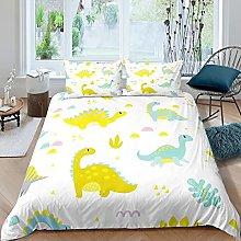 Set di biancheria da letto con dinosauro, motivo: