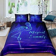 Set di biancheria da letto con fenicotteri