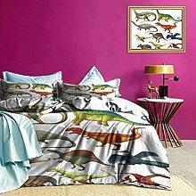 Set di biancheria da letto Jurassic Collection Art