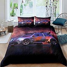 Set di biancheria da letto per auto sportiva e