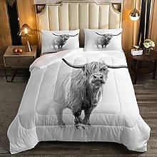 Set di biancheria da letto per letto matrimoniale,