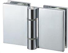 Set di Cerniere per box doccia angolare da 6 mm