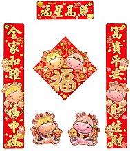 Set di distici per il capodanno cinese per
