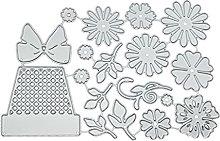 Set di fustelle per vaso di fiori Durevole in