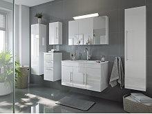 Set di mobili da bagno Venezia 100cm (6 pezzi)
