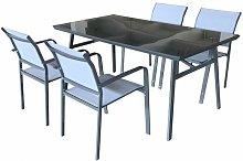 Set di mobili da esterno per giardino o terrazza