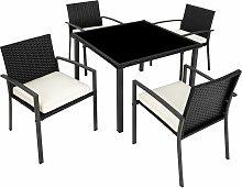 Set di mobili da giardino Meran 4+1 - arredo