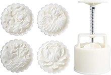 Set di stampi 3D Mooncake fai da te 150 g o 200 g