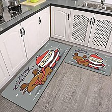 Set di tappeti da cucina,buon natale