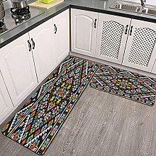 Set di tappeti da cucina,ricamato buono come il