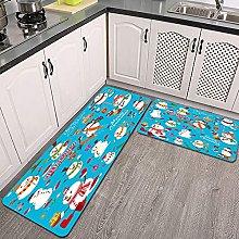 Set di tappeti da cucina,set di design di poster