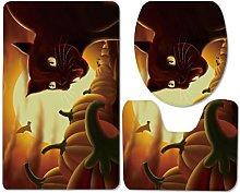 Set di Tappetino da Bagno Antiscivolo Tappetino