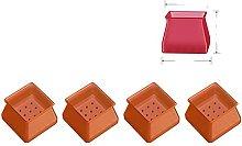 Set di tappi per gambe per sedie in silicone Set