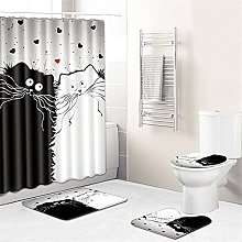 Set di tende da doccia impermeabili Set di tappeti