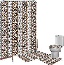 Set di tende per doccia Accessori il bagno tappeti