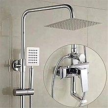 Set doccia completo in rame per doccia con